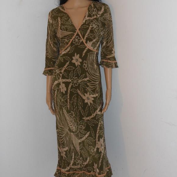 Ice Dresses & Skirts - ICE SILK MULTI-COLOR DRESS SIZE 6